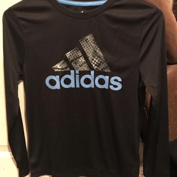 b80f05d2 FINAL PRICE!! BNWT Adidas boys long sleeve shirt. adidas.  M_5c4f7a02534ef90824f24301. M_5c4f7a02534ef90824f24301